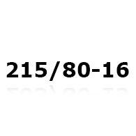 Snekæder til 215/80-16