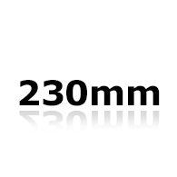 Vinduesvisker 23cm