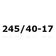 Snekæder til 245/40-17
