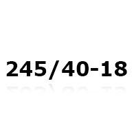 Snekæder til 245/40-18