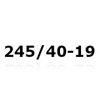 Snekæder til 245/40-19