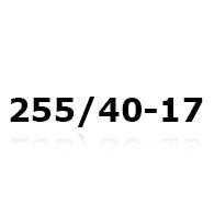 Snekæder til 255/40-17
