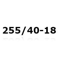 Snekæder til 255/40-18