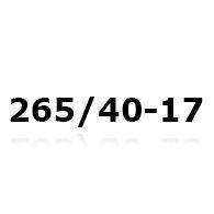 Snekæder til 265/40-17