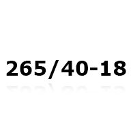 Snekæder til 265/40-18