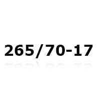 Snekæder til 265/70-17