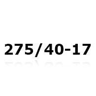 Snekæder til 275/40-17