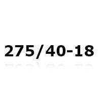 Snekæder til 275/40-18
