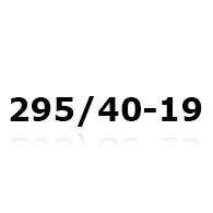 Snekæder til 295/40-19