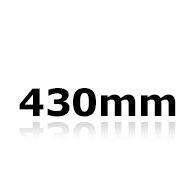 Vinduesvisker 43cm