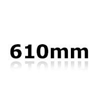 Vinduesvisker 61cm
