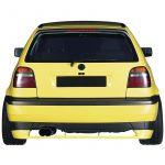 Bonrath, Diffuser, Til bagkofanger, Volkswagen Golf III 3/5-doors 1991-1998 (76mm) - 1stk.