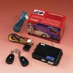 Fjernbetjent styremodul, Til c-lås, Til centrallås,Til 2 døre, Plastik, Sort (12V) - 1 Sæt