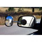 Defa, Caravanspejl, Med lang arm, Til kørsel med campingvogn (Buet glas) - 1stk.