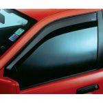 Vindafvisere til fordøre - sorte, Peugeot 308 SW (08-)