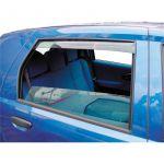 Vindafvisere til bagdøre, Smoked - Peugeot 407 4dr./5dr. sedan (2004-2010)