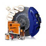 Foliatec, Bremsekaliber Lakeringssæt -  Performance Blue Glossy  - 1 Sæt