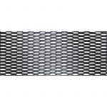 Simoni Racing, Sportsgitter, Aluminium, Sort, 100x30cm (9x5mm) - 1stk.