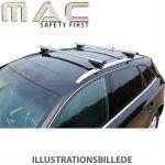 Tagbøjler, alu - Peugeot 206 - TL A20
