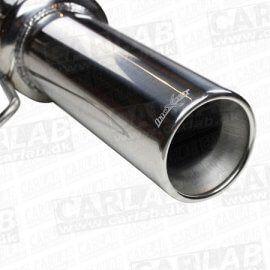 Rustfri bagpotte - Seat Leon 1M 1.8 20v (125HK) (00-) - 102mm afgang
