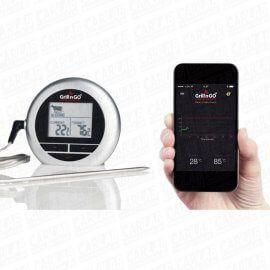 Grill n GO, stegetermometer m/Bluetooth  - 1stk.